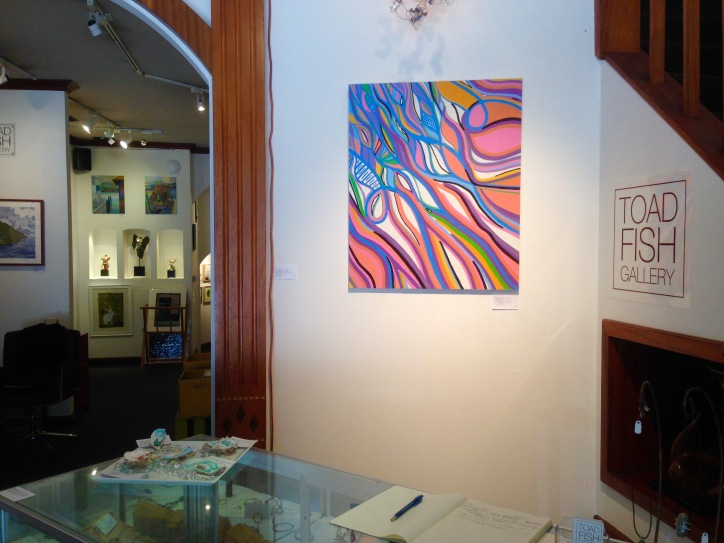Exhibitions - Toad Fish Gallery, 2016 - 1